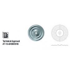Шайба изолационна  – кръгла , полу-изпъкнала Wkret-met KD-02-W-5,5