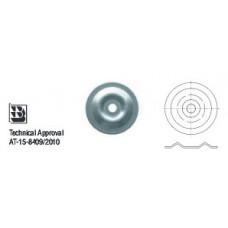 Шайба изолационна  – кръгла, полу-изпъкнала Wkret-met KD-04-W5
