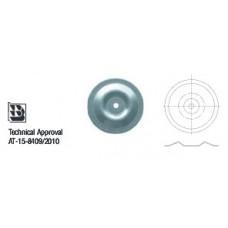 Шайба  изолационна – кръгла, изпъкнала Wkret-met KD-07-WW