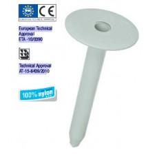 Дюбел пластмасов  за закрепване на топлоизолация и хидроизолация на плосък покрив  Wkret-met LINO