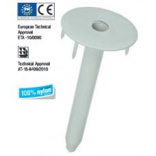 Дюбел пластмасов  за закрепване на топлоизолационни и хидроизолационни системи на  плоски покриви с допълнително фиксиране Wkret-met LINOK